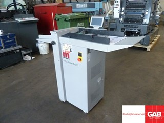Morgana AutoCreaser Pro-33 card crasing machine
