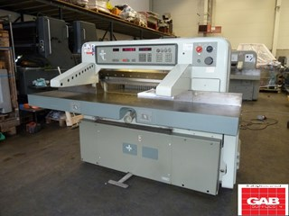 Used Polar 92 emc guillotine