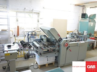 Stahl TI52/4-FI52 paper folding machine