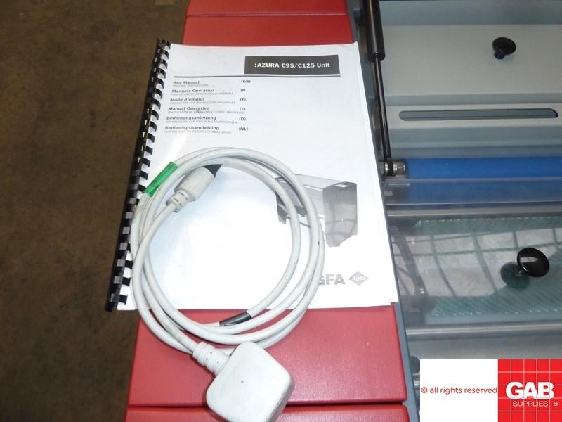Agfa Azura C125 plate gumming & washing unit
