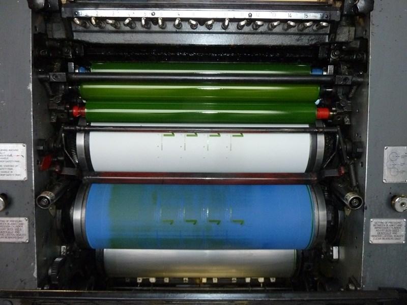 Heidelberg GTO 52-Z two colour offset