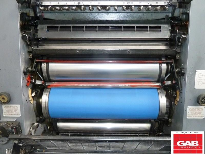 Heidelberg gto 52 single color Heidelberg gto 52 single color press – Bjerringbro-Silkeborg ...