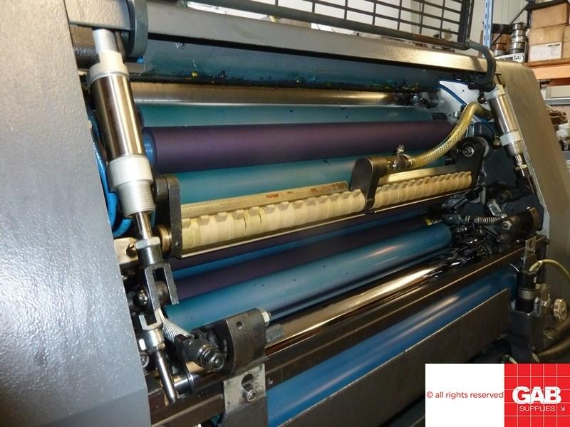 Heidelberg GTOZ-S 52 two colour offset
