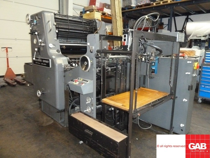 Heidelberg SORM single colour offset