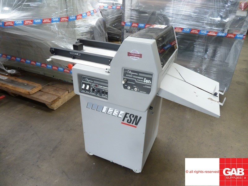 Show details for Morgana FRN5 rotary numbering machine