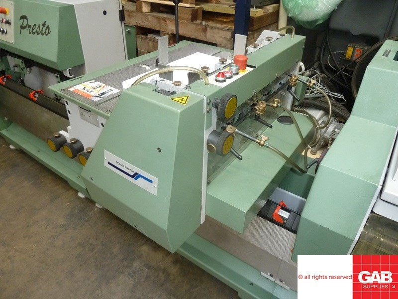 Muller Martini Presto II saddle stitcher