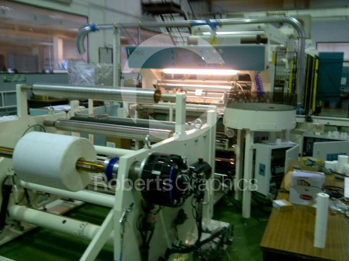 Show details for KMEC   TK1013 ATM  PAPER ROLL SLITTING MACHINE