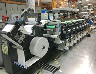 Gallus EM280 Flexo Press