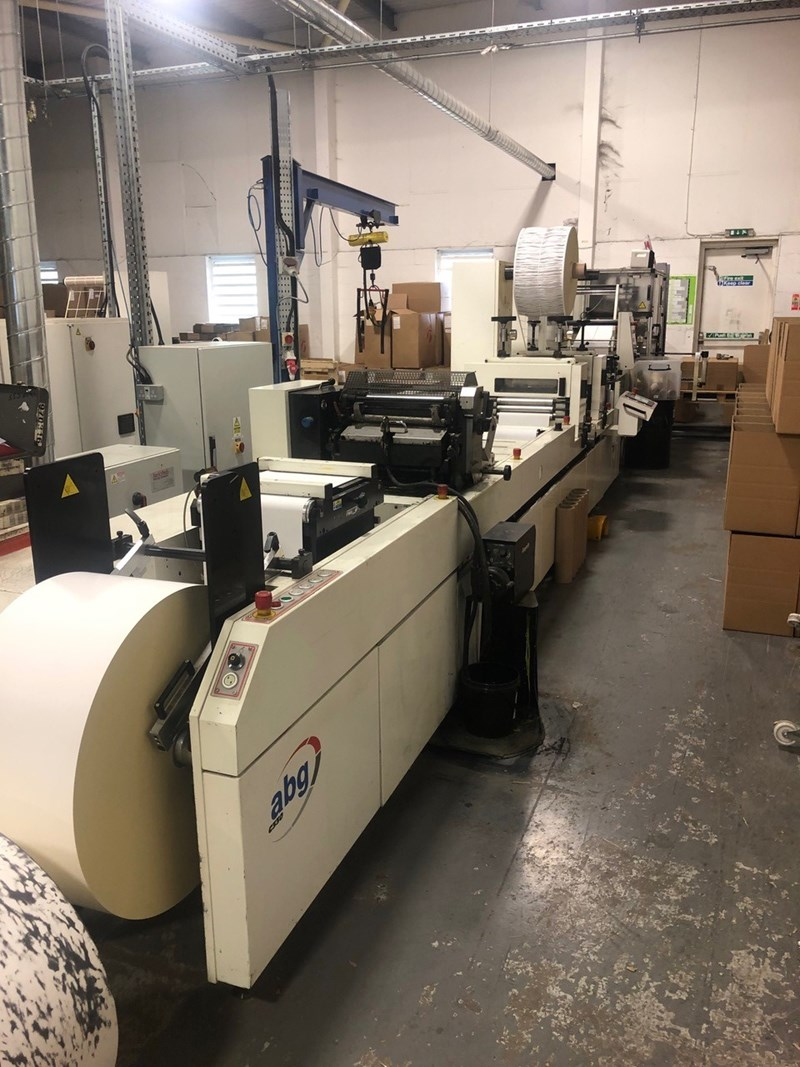 ABG International 330 Converting Line