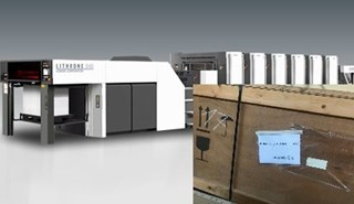NEW machine Komori GL640+LX UV Prep