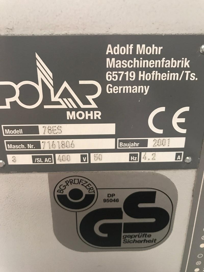 Guillotine Polar 78 ES