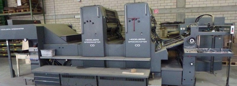 Heidelberg Speedmaster CD 102 Z