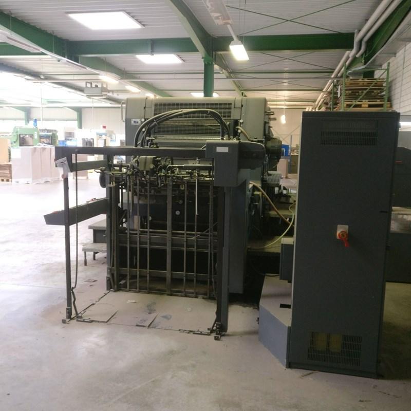 Heidelberg Speedmaster CD 102 Z