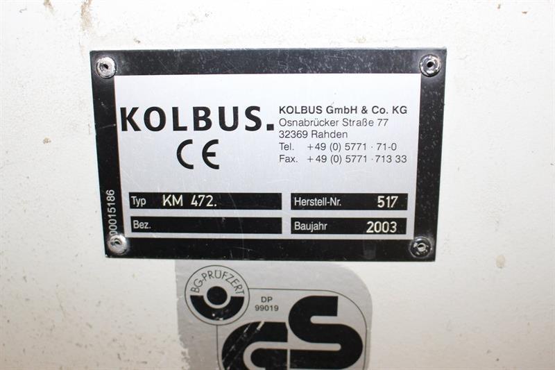 Kolbus KM 472.A Ratiobinder 2000