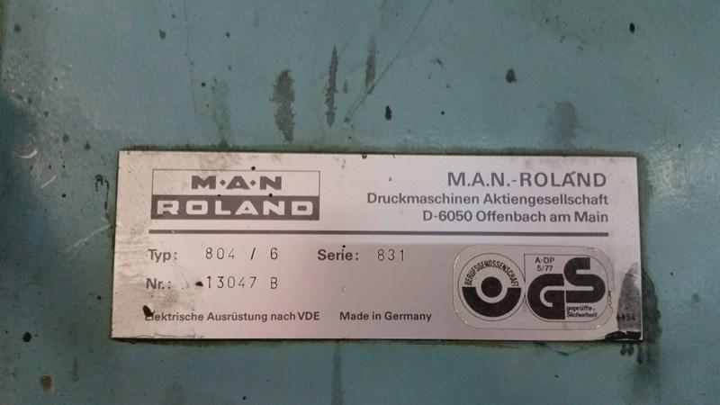 Manroland R804 6