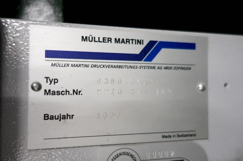 Muller Martini BRAVO S