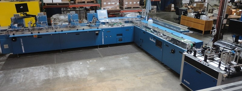 BUHRS BB700 FOUR-STATION AUTOMATIC INSERTING SYSTEM