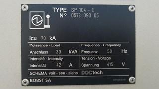 Bobst SP 104 E